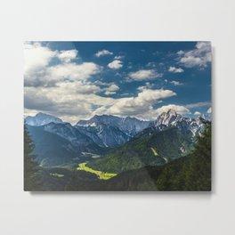 Stunning Julian alps Metal Print