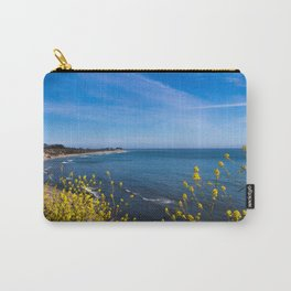 Blooming Flowers on the Pacific Coast Carry-All Pouch