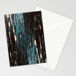 distressed wood grain Stationery Cards