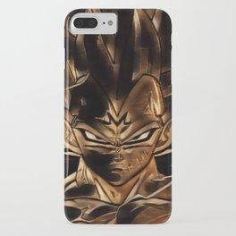 Dragon Ball Vegeta Artistic Illustration Energy Style iPhone Case