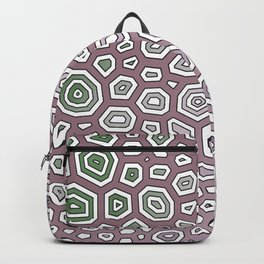 Experimental pattern 48 Backpack