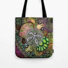 Baby Turtle Art Blend Tote Bag
