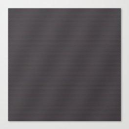 Soft Parisian Stripes Canvas Print