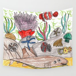 Coral Reef II Wall Tapestry