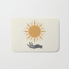 Sunburst Hand Bath Mat