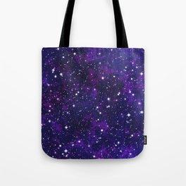 winter galactic Tote Bag