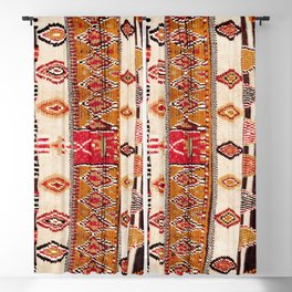 Beni Yacoub South Morocco North African Pile Rug Print Blackout Curtain