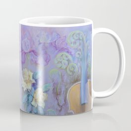 MAGIC VIOLIN Ultraviolet pastel composition inspired by music and farytale Coffee Mug