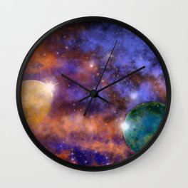 Space 1 Wall Clock