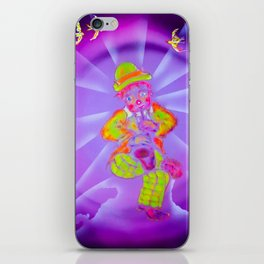 Funny World Clown 2 iPhone Skin