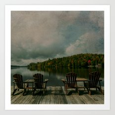 The Adirondacks Art Print