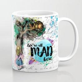 Alice in Wonderland - We're All Mad Here Coffee Mug