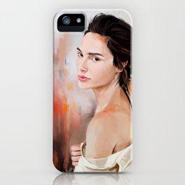 Gal Gadot Woder Woman iPhone Case