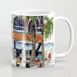 South Beach Sidewalks Coffee Mug