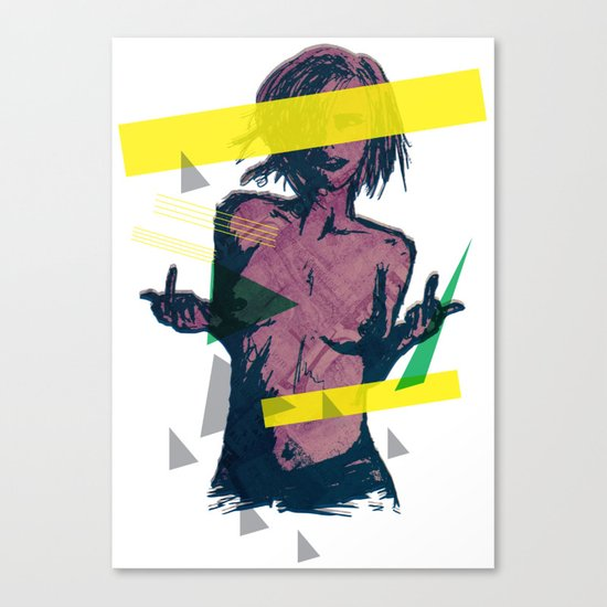 ELECTRO FU2 Canvas Print