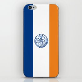 new york city flag united states of america iPhone Skin