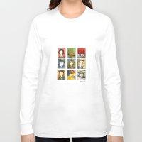 twin peaks Long Sleeve T-shirts featuring Twin Peaks by Steven Learmonth