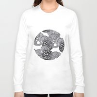 planets Long Sleeve T-shirts featuring PLANETS by Mari