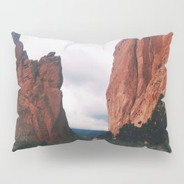 Red Rocks Pillow Sham