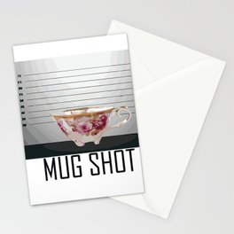 Mug Shot Stationery Cards