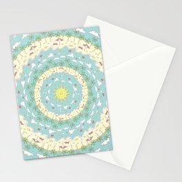 Eternal Beach Mandala Stationery Cards