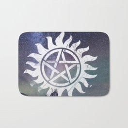 supernatural anti possession symbol Bath Mat
