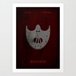 The Silence of the Lambs - Minimal Art Print