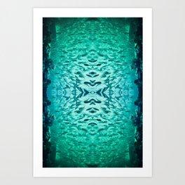 Kaleidofish Art Print