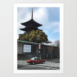 Kyoto Street Art Print
