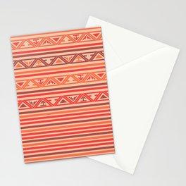 Traditional Ethnic Tribal Geometric Navajo Native American Motif Pattern Stationery Cards