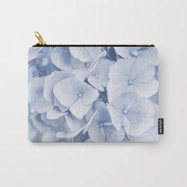 Hydrangea Blue #1 #floral #decor #art #society6 Carry-All Pouch