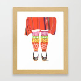 Muhu Socks Framed Art Print