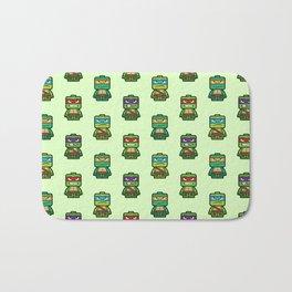 Chibi Ninja Turtles Bath Mat