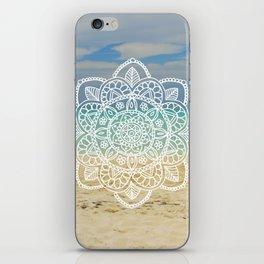 Beach Mandala iPhone Skin