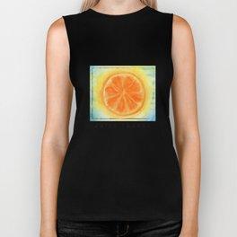 Juicy Orange Biker Tank