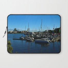 Harbor Of Victoria - Vancouver Island Laptop Sleeve
