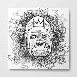 Kong King of the Jungle Metal Print
