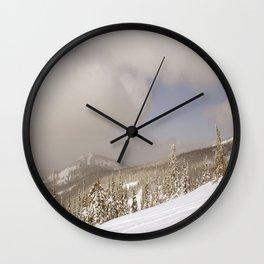 Winter day 18 Wall Clock