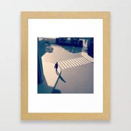 Crosswalk Mini Framed Art Print