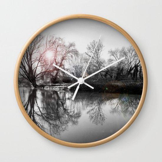 TREE-FLECTION Wall Clock