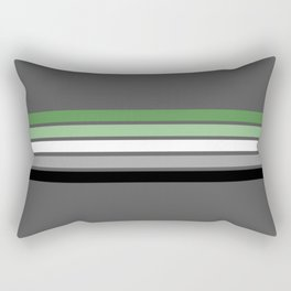 Aromantic Flag Rectangular Pillow