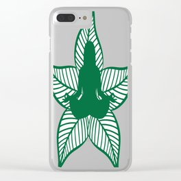 Nature Yoga Clear iPhone Case