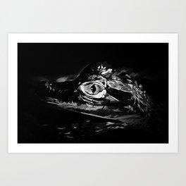 alligator baby eye vabw Art Print
