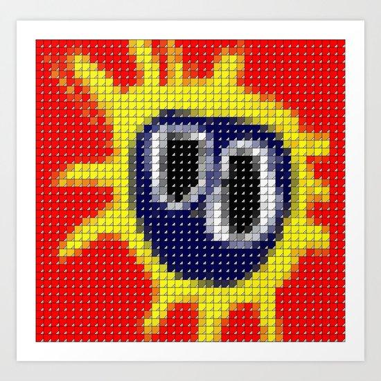 Primal Scream - Screamadelica - Pantone Pop Art Print
