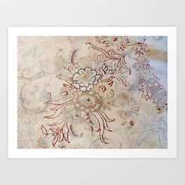 Vintage Carpet 3 Art Print