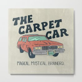 Brainerd, Minnesota Carpet Car Metal Print