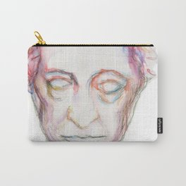 Goethe death mask Carry-All Pouch