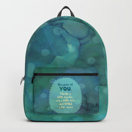 Because of You Backpack