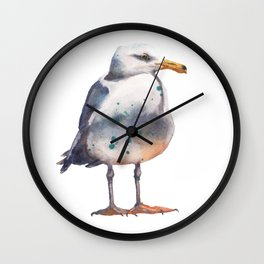 Seagull Lookout Wall Clock