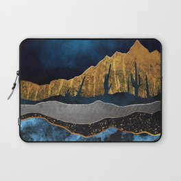 Midnight Desert Moon Laptop Sleeve